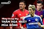 VIDEO: Nhung ban hop dong tham hoa nhat mua dong: MU hay can than voi Bruno Fernandes