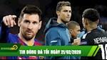 TIN BONG DA TOI 21/02: Messi khang dinh o lai Barca, Neymar gach ten Ronaldo khoi top 5 cau thu hay nhat