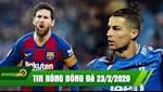 TIN NONG bong da 23/02: Messi lap Poker dua Barca len dinh, Ronaldo tiep tuc no sung