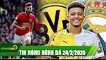 TIN NONG bong da 24/2: Bruno Fernandes toa sang, M.U vui dap Watford; Real mua Sancho thay Hazard