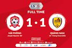 Video tong hop: Hai Phong 1-1 Quang Nam (Vong 2 V-League 2020)