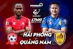 Hai Phong 1-1 Quang Nam: Mpande cuu Hai Phong khoi that bai ngay tren san nha