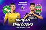 SLNA 1-0 Binh Duong: Phan Van Duc ghi ban mang ve 3 diem cho CLB xu Nghe