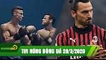 TIN NONG BONG DA 28/3 | Doi Covid19,Ibra muon tro thanh HLV | PSG se dua Ronaldo ve thay Neymar?