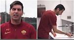 VIDEO: AS Roma tuyen truyen phong virus corona cuc y nghia