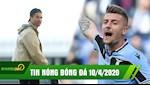 TIN NONG BONG DA 10/4 | Ronaldo ve que tranh dich vi thay ngot ngat | MU vung tien tan thay Pogba