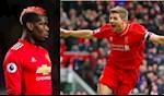 Huyen thoai MU danh gia Paul Pogba giong Steven Gerrard