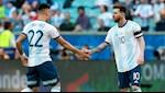 Lautaro Martinez la doi tac hoan hao cua Lionel Messi
