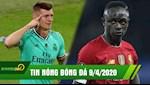 TIN NONG BONG DA 9/4 | Sao Real khong chiu hop tac giam luong; Mane chap nhan buong xuoi Cup vo dich