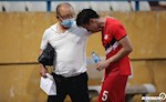 ANH: HLV Park Hang Seo co hanh dong bat ngo sau tran Ha Noi vs Viettel