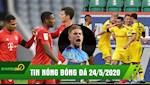 TIN NONG BONG DA 24/5 | Bayern Dortmund chay da hoan hao cho SKD; Sao Man City thao chay khoi Etihad