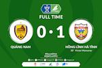 Quang Nam 0-1 Ha Tinh: Tan binh V-League 2020 tao bat ngo o cup quoc gia