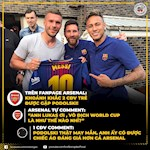 Ca khia Messi va Neymar, Arsenal bi fan dap tra cuc gat