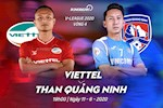 Viettel 1-1 Quang Ninh (KT): Khac Ngoc sut phat dinh cao giup Viettel thoat thua
