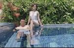 """Bạn gái Huy Hùng bất ngờ gây bão MXH bằng ảnh """"nóng bỏng"""""""