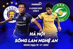 Ha Noi 0-1 SLNA (KT): Nha DKVD thua dau ngay tren san nha dung ngay sinh nhat