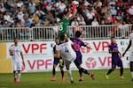 Cầu thủ Sài Gòn suýt nuốt lưỡi ở trận đấu gặp HAGL