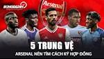 VIDEO: 5 trung ve Arsenal nen tim cach ky hop dong