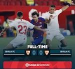 Link xem video bong da Sevilla vs Barca 0-0: Real ap sat