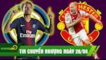 TIN CHUYEN NHUONG 28/6: Inter vung tien tan mua Neymar? MU danh bai Real mua Van De Beek