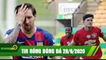 TIN NONG BONG DA 28/6 | Messi bat luc,Barca hoa that vong | Da tang dua Man Utd vao ban ket FA Cup