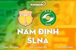 Nam Dinh 3-0 SLNA: Do Merlo lap cu dup, doi bong Thanh Nam mo hoi o Thien Truong