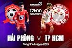 Hai Phong 0-0 TPHCM (KT): Vang Cong Phuong, a quan chia diem tai Lach Tray