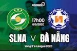 Video tong hop: SLNA 1-0 Da Nang (Vong 3 V-League 2020)