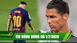 TIN NONG BONG DA 1/7: Barca lai hoa, Real mo hoi trong long; Ronaldo na rocket, Juve dai thang