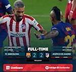 Link xem video bong da Barca vs Atletico 2-2: Kich tinh va quyet liet