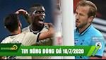 TIN NONG BONG DA 10/7 | Pogba Bruno toa sang, Man Utd ap sat Top 4 | Tottenham hoa that vong