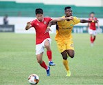 Video tong hop: SLNA 1-1 Ha Tinh (Vong 9 V-League 2020)