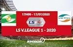 Truc tiep SLNA vs Viettel link xem bong da VLeague chieu nay