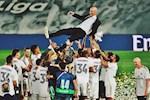 Real Madrid vo dich La Liga: Su man nguyen cua Zinedine Zidane