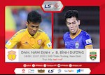 Link xem truc tiep Nam Dinh vs Binh Duong chieu nay 23/7 (vong 11 V.League 2020)