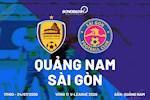 Quang Nam chia diem voi doi dau bang Sai Gon trong con mua ban thang o Tam Ky (KT)