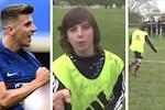 VIDEO: Mason Mount tiet lo bi kip sut phat giong Ronaldo tu khi con nho