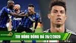 TIN NONG BONG DA 29/7: Ha Napoli, Inter tranh TOP 2; Arthur noi loan