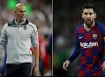 HLV Zidane len tieng ve kha nang Lionel Messi roi Barca