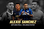 VIDEO: Alexis Sanchez: Ke mat hinh o Man United gio dang toa sang o Inter