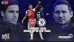 Doi hinh du kien Arsenal vs Chelsea dem nay 1/8 (Chung ket Cup FA 2019/20)
