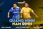 Quang Ninh 3-2 Nam Dinh (KT): Doi bong dat Mo thang kich tinh vao nhung giay cuoi cung
