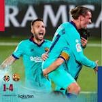 Link xem video bong da Villarreal vs Barca 1-4:Griezmann lap cong