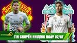 TIN CHUYEN NHUONG 7/7: Liverpool mua Asensio 100 trieu bang, James Rodriguez gia nhap MU
