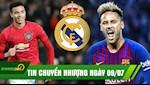 TIN CHUYEN NHUONG 9/7: Barca doi Griezmann va Dembele lay Neymar, Real mua Greenwood 100 trieu Euro?