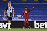 Pha luoi Brighton, Salah sanh ngang cac huyen thoai Liverpool