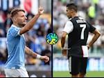 Cristiano Ronaldo chinh thuc chao thua Ciro Immobile