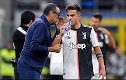 Juventus sa thai Maurizio Sarri, Dybala phan ung the nao?