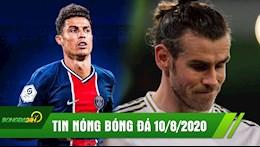 TIN NONG BONG DA 10/8 | Ronaldo doi sang PSG sat canh voi Mbappe va Neymar; Bale cay cu tra dua Real