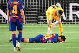 Messi tu choi nghi ngoi, tap luyen dien cuong cho dai chien Bayern